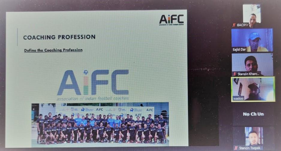 AIFC Webinar in Ladakh; Coaches Sajid & Wadoo lead the session