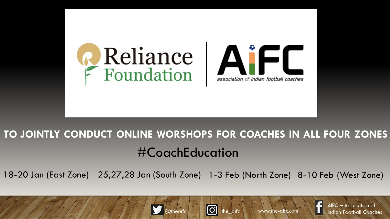 AIFC-RFYS to jointly conduct online workshops to help Coaches 'Upskill & Improve'