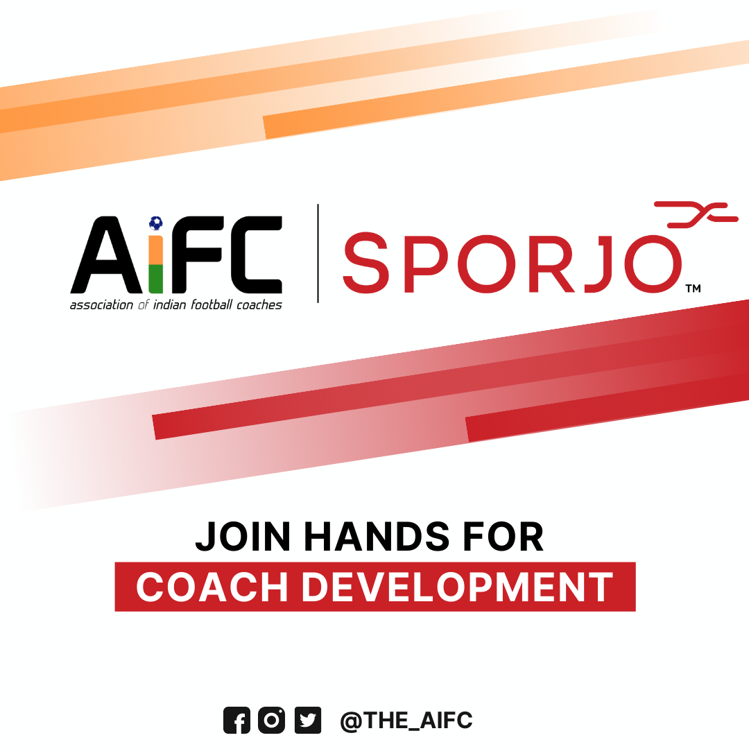 Association of Indian Football Coaches partners with Sporjo